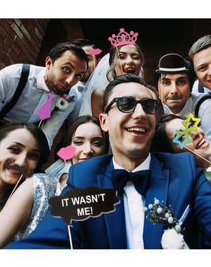 20 de piese pentru Photobooth nuntă anii 20