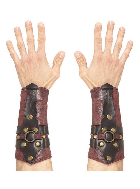 Bracelets gladiateur romain adulte