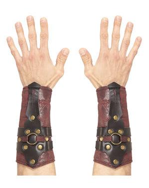 Romersk Gladiator Håndledd ermer for voksne