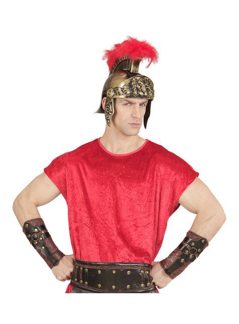 Brazaletes de gladiador romano para adulto - original