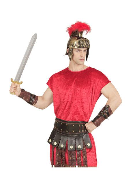 Braccialetti da gladiatore romano per adulto