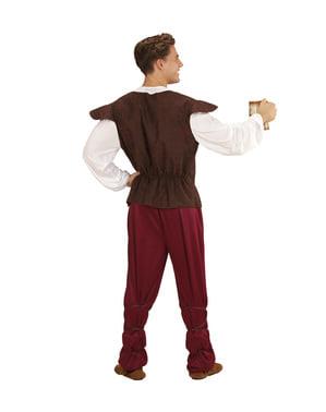 Traditionell mittelalterlicher Gastwirt Kostüm für Männer