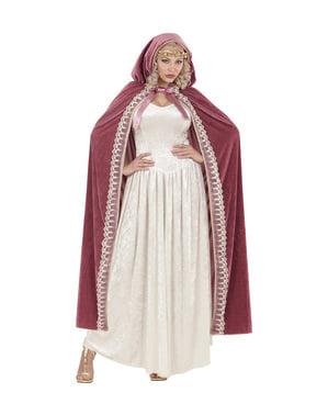 Cape princesse médiévale femme