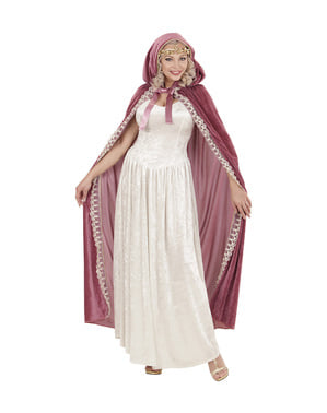 Mantello da principessa medievale per donna
