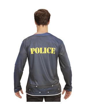 Fato de polícia stripper sexy para homem