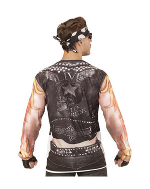 Biker Sixpack T-Shirt