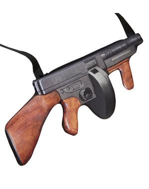 20-tallet Gangster Maskingevær Håndveske