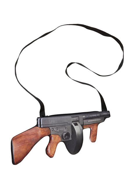 20er gangster maskingevær håndtaske