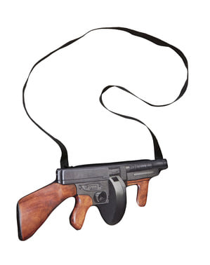 Geantă mitralieră gangster anii 20