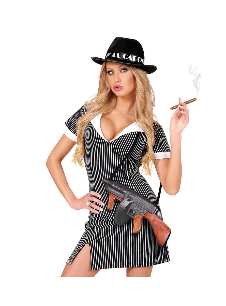 gangster maschinenpistole aus den 20er jahren f r kost m funidelia. Black Bedroom Furniture Sets. Home Design Ideas