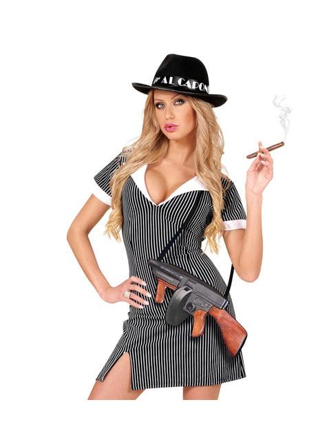 Mala de metralhadora gangster dos anos 20