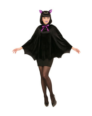 Women's noctural bat costume