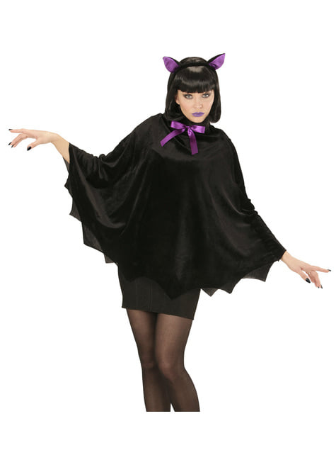 Disfraz de murciélago nocturno para mujer - mujer