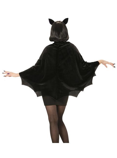Women's noctural bat costume