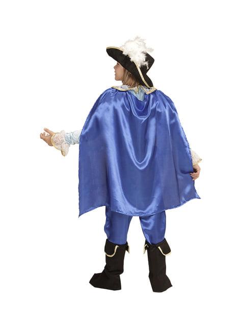 Blauw beeldschone prins kostuum voor jongens