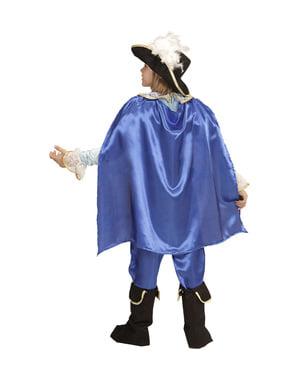 Bombastischer Prinz, blau Kostüm für Jungen