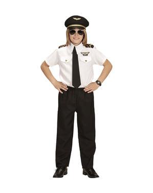 Flugzeug Pilot Kostüm für Kinder