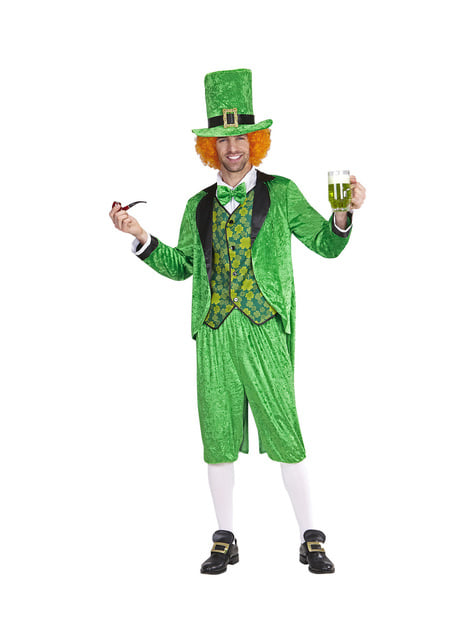 Disfraz de leprechaun San Patricio para hombre