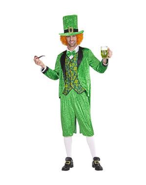 Costume leprechaun San Patrizio per uomo