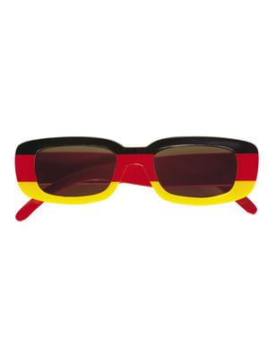 Okulary z flagą Niemiec dla dorosłego