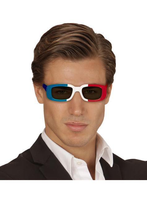 Gafas de Francia para adulto - para tu disfraz