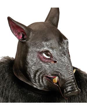 Villsvin maske for voksne