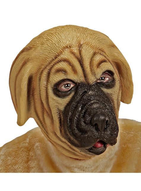 Anglický mastif psí maska pro dospělé