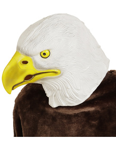 Máscara de águila calva americana para adulto