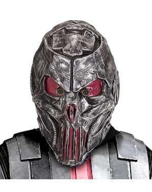 Metalová maska vesmírného predátora pro dospělé