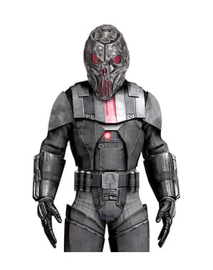 Металева космічна маска для дорослих