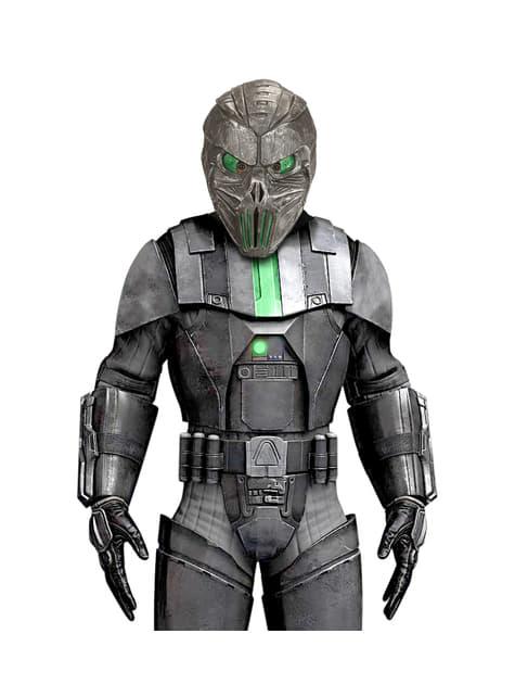 Máscara de alien robótico para hombre - para tu disfraz