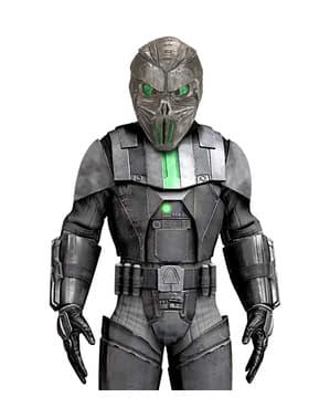Men's robotic alien mask