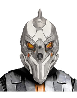Masque robot commandant de l'espace homme