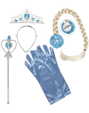 Schneeprinzessin Accessoire Kit für Mädchen
