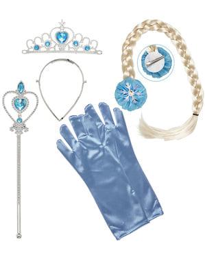 Set med accessoarer isprinsessa barn