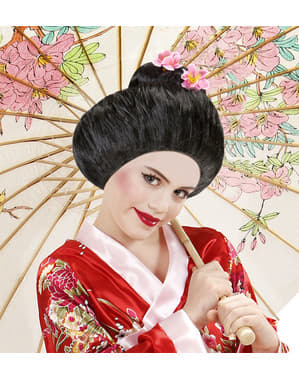Parrucca da geisha tradizionale per donna