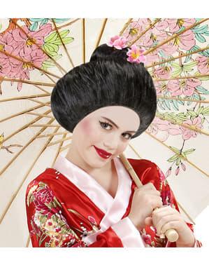 Peruk geisha tradicional dam