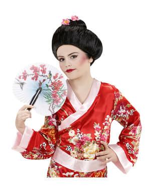 Traditionel geisha paryk til kvinder