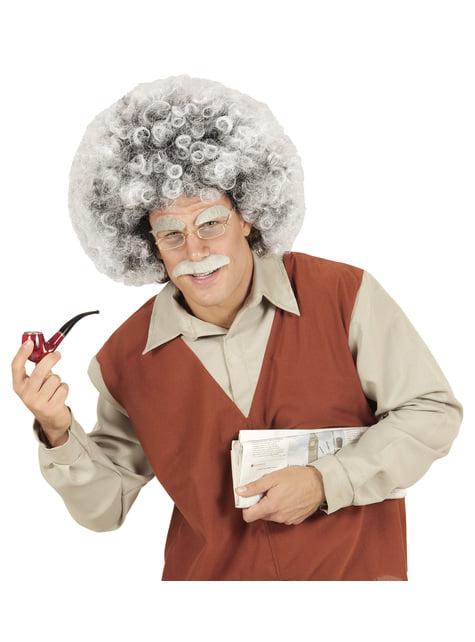 Peluca de científico Einstein para adulto - para tu disfraz