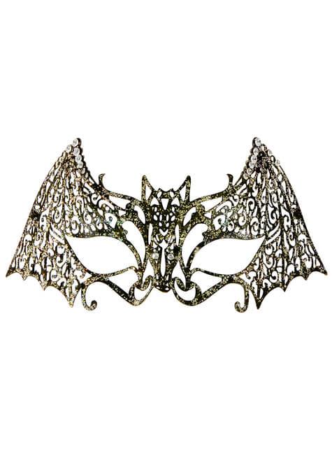 Maska nietoperz metalowa dla dorosłych