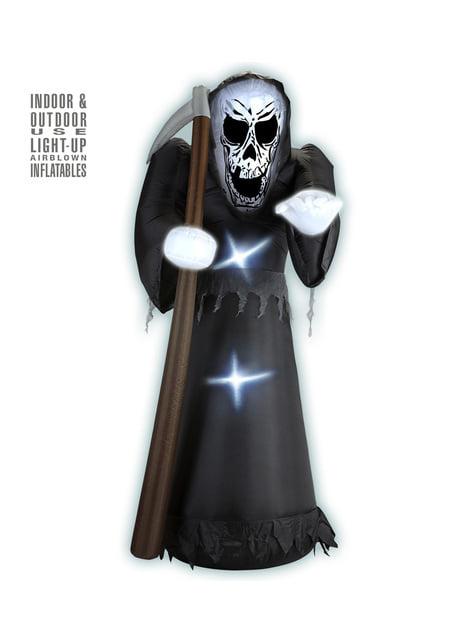 Figura decorativa de muerte hinchable luminosa gigante