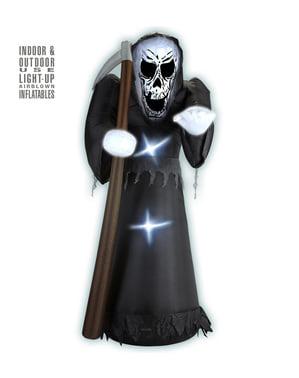 Aufblasbare, leuchtende und riesige dekorative Figur Tod