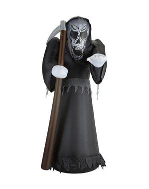 Figura decorativa de morte insuflável luminosa gigante