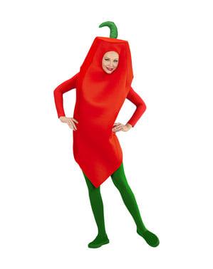 Costum de ardei iute pentru adult