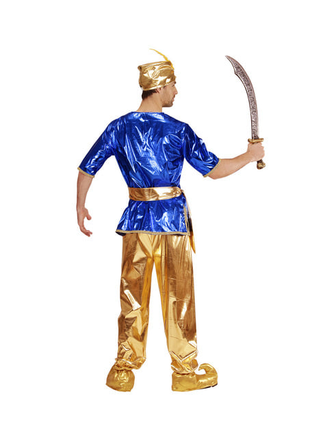 Golden Sultan Arabic costume for men