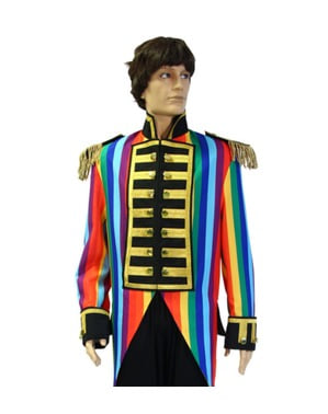 Casaco de domador de circo multicolor para homem