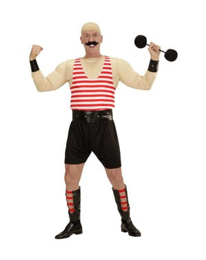 Muscly Strongman costume for men