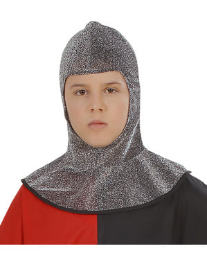 Mittelalterliches Kettenhemd für Jungen