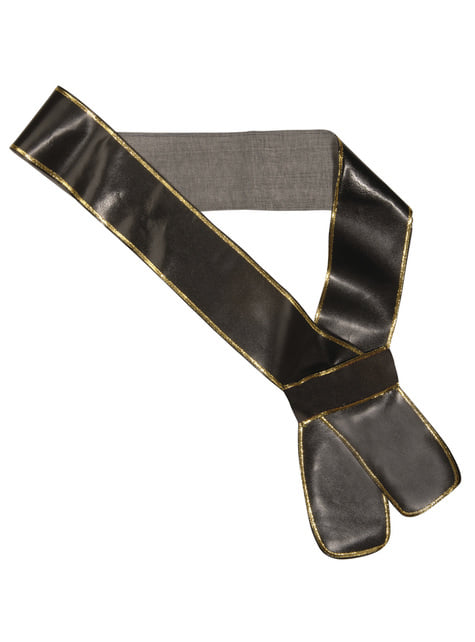 Leather look sword sash