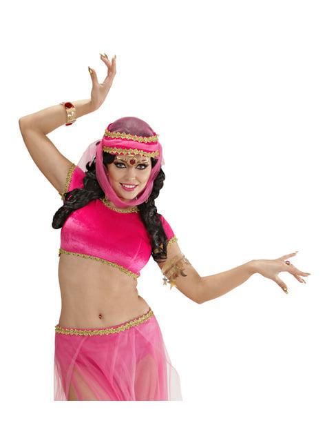 Women's harem dancer accessories kit